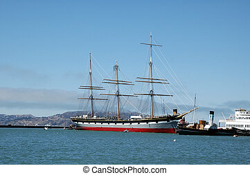 Tall Ship - Tall ship in San Francisco Bay