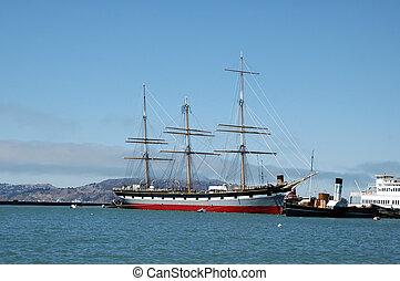Tall Ship - Tall ship in San Francisco Bay