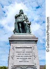 The monument of William the First, Prince of Oranje on Het...