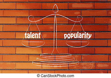 finding a good balance in your career: talent & popularity -...