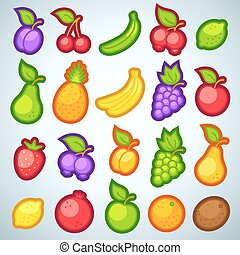 fresh fruits for game