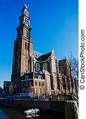 The Westerkerk in Amsterdam
