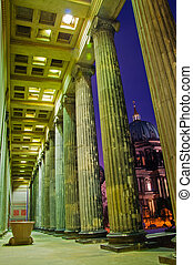 historic building in Berlin with columns