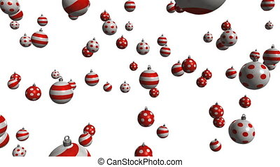 Christmas ball 02 - christmas balls with alpha matte