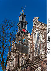Amsterdam - The Westerkerk in Amsterdam