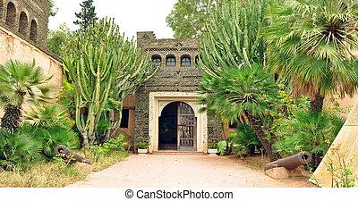 Olhao Park - agadir city morocco Olhao Park 1960 earthquake...