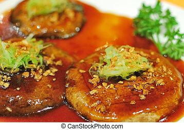 Chinese vegetarian cuisine