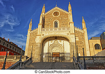 St Jerome the Royal church in Madrid horizontal - St Jerome...