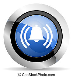 alarm icon alert sign bell symbol