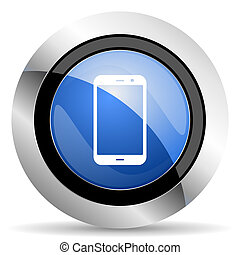 smartphone icon phone sign