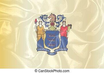New Jersey Silk Flag