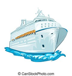Cruise liner