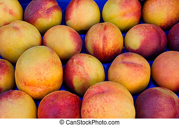 Peaches at market place
