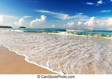 Beautiful sea Karon beach, Phuket, Thailand Asia
