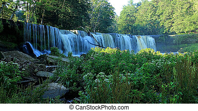 Keila - Joa waterfall - Keila-Joa waterfall in Estonia near...