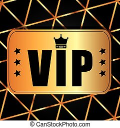 vip card design, vector illustration eps10 graphic