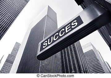 success - picture of a conjuncture concept