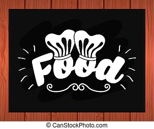 food label design, vector illustration eps10 graphic