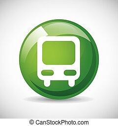 bus stop design, vector illustration eps10 graphic