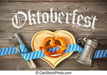 Background for Oktoberfest - Oktoberfest beer festival...