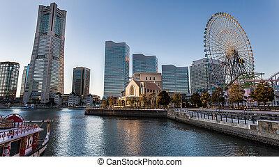 Minato Mirai 21 - Yokohama, Japan , Minato Mirai 21