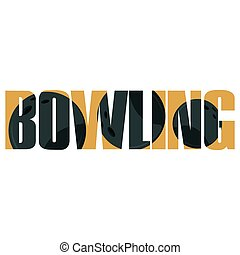 Bowling sign