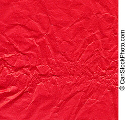 Red rippled paper sheet, for Christmas theme greeting card...