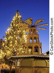 Christmas tree on Marktplatz