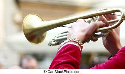 Outdoor Trumpeter