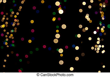 Christmas background of blurred lightshristmas background of...
