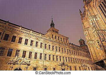 Nuremberg old town hall - Lochgefaengnisse Nuremberg,...