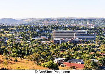 Pretoria Skyline View - View of Pretoria, South Africa from...
