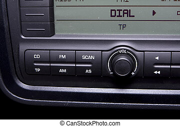 radio dial - A car radio to tune to any dial