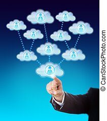 Accessing The Support Of Many Workers In The Cloud - Arm of...