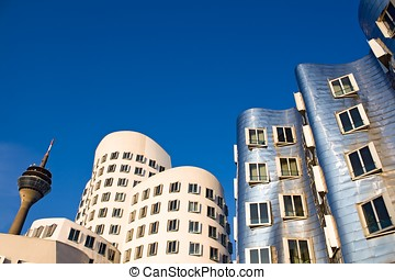 Modern Architecture in Dusseldorf, Germany