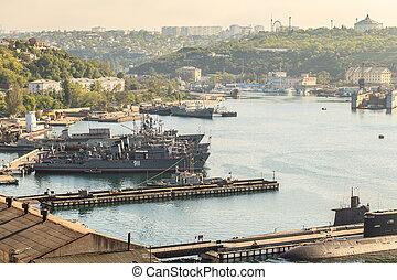 Sevastopol, baía,
