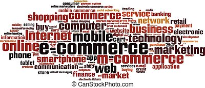 E-commerce-horizon Convertedeps - Electronic commerce word...