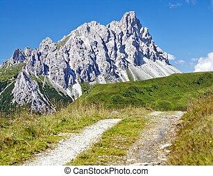 Crode Dei Longerin - Alpi Carniche or Karnische Alpen -...