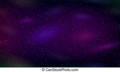 Empty Space, Blue and Lilac Seamless Loop - Fullhd 1920x1080...