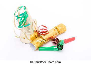 Party party - Christmas / new years eve party concept image...