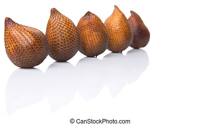 Salak Fruit Or Snake Fruit - Salak fruit or snake fruits...