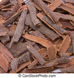 Background texture image of Cinnamon