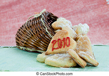 Christmas cookies - The picture of homemade christmas...