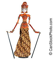 Puppet from Bali - The picture of cute Puppet from Bali