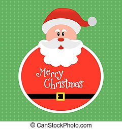 Christmas - abstract cute merry christmas background with...