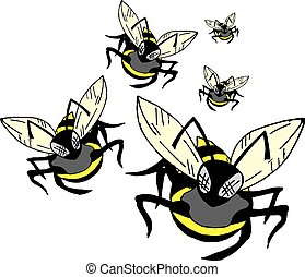 group wasp - Creative design of group wasp