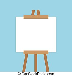 Canvas Easel Empty
