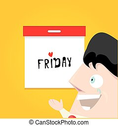 thanks god its friday concept i love friday - vector...