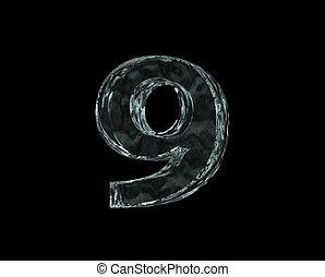 frozen number nine
