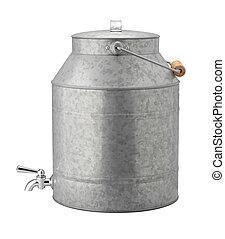 Antique Galvanized Water Cooler